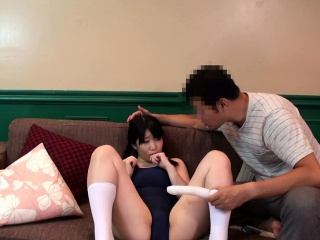 Bukkake japanese teen toyed in pussy