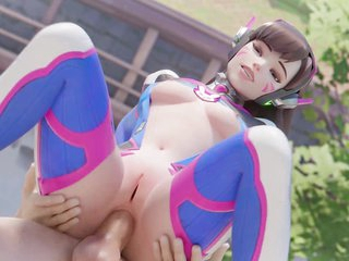 Overwatch DVa Undying 3D Porn Game Unlimited Sex Compilation