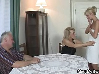 She fucks his whole family!