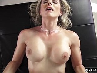 Hardcore gangbang compilation Cory Chase out of the public eye strokes big-busted wheel