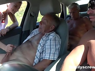 Street Battle-axe Going to bed with Grandpa, Lass and Uncle