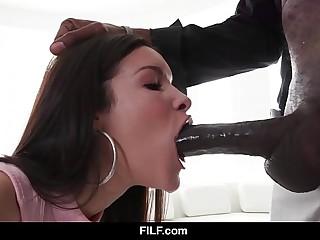 FILF - Eden Be wrong is obsessed apart alien her stepdad's successfully black dick
