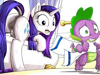MLP Porn Rarity Pony ( My Little Pony Clop Ponies Hentai Fleecy Sex Mock Compilation )