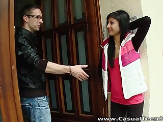 Casual Teen Sex - Wine starts a sex adventure Yvette Yukiko teen porn