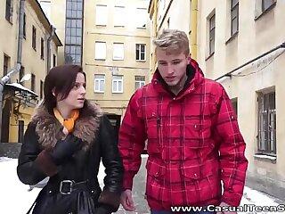 Lucky Teen Lovemaking - Pomatum fuck a teeny Lizaveta Kay