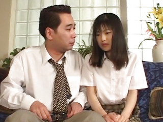 In favour chick Anna Kuramoto groans as that babe receives her salacious cleft gangbanged