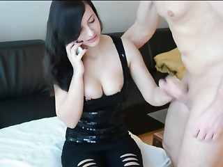 Chloe gets fucked while on be transferred to ring for